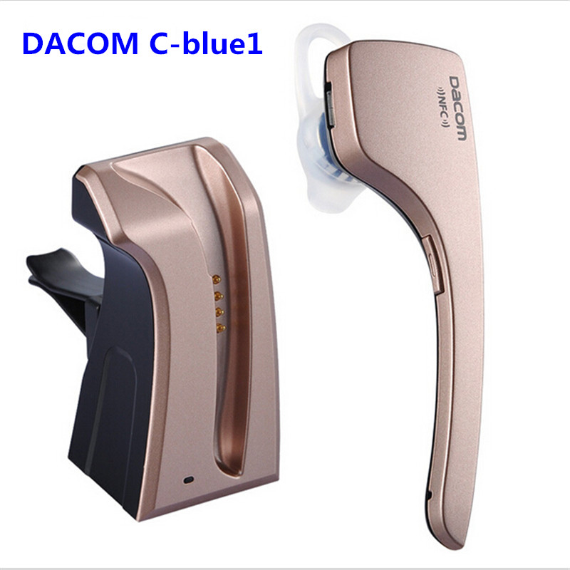 Dacom C-Blue1 Stereo Wireless Fone De Ouvido Bluetooth Headset With Microphone Nfc For Professional Business Handsfree Earphone awei stereo earphones headset wireless bluetooth earphone with microphone cuffia fone de ouvido for xiaomi iphone htc samsung
