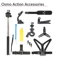 DJI Osmo Action Headband Belt Clip Bicycle Bracket Suction Cup Desktop Bracket Self timer Rod Shoulder Wrist Strap Water Float