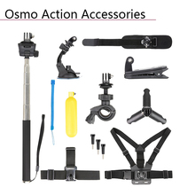Buy Headband Belt Clip Bicycle Bracket Suction Cup Desktop Bracket Self-timer Rod Shoulder Wrist Strap Water Float for Osmo Action directly from merchant!