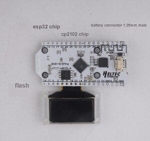 2Pcs 868MHz SX1276 ESP32 LoRa 0.96 Inch Blue OLED Display Bluetooth WIFI Lora Kit 32 Module IOT Development Board