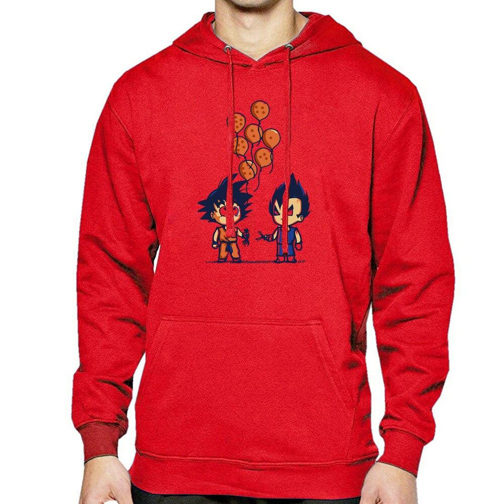Spring Man Hoodies Autumn New Arrival Men's Casual Streetwear Printed Dragon Ball Z Fashion Sportswear Hip Hop Hoodie Man Tops
