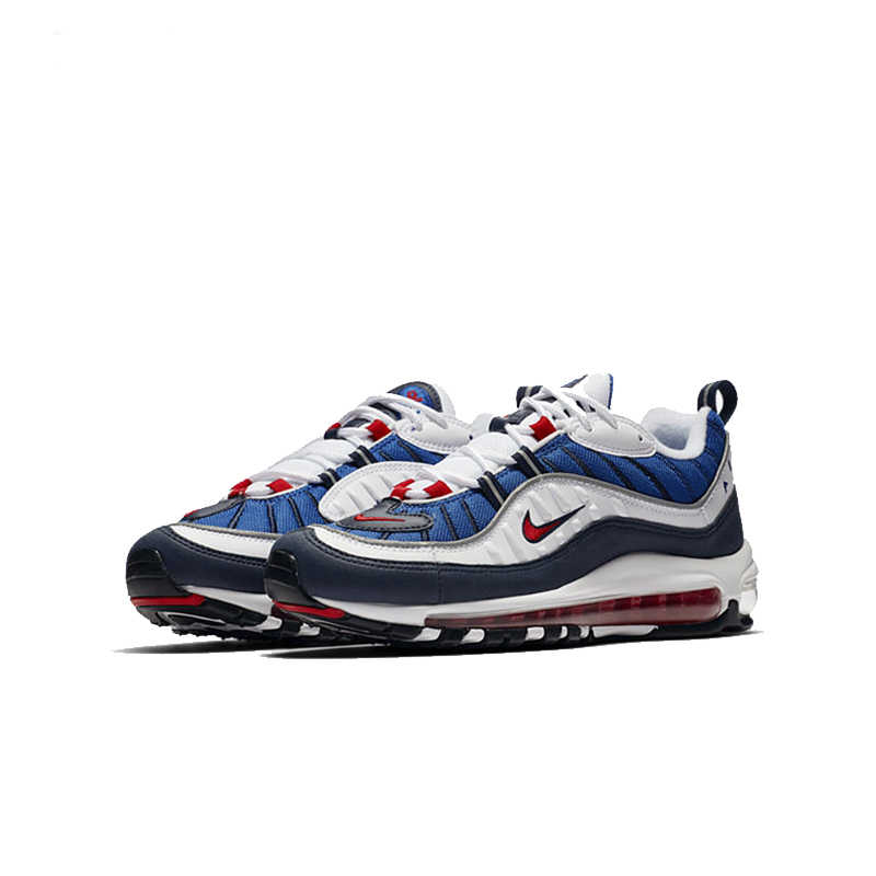 newest 5e47b e89ee ... NIKE Air Max 98 Gundam Mens Running Shoes Mesh Breathable Lightweight  Support Sports Sneakers Outdoor For ...