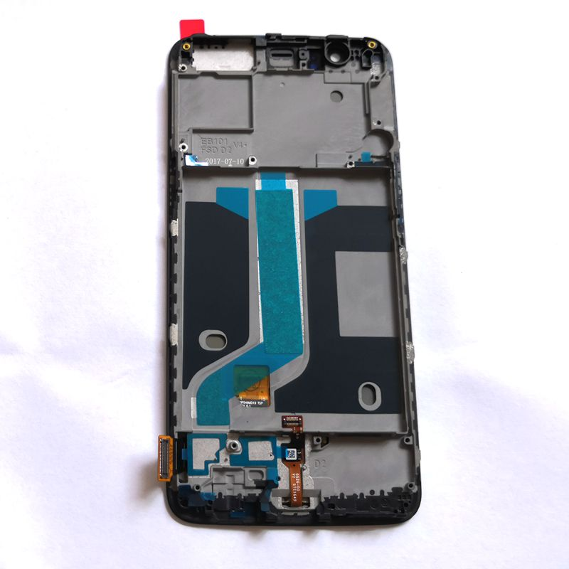 Amoled For Oneplus 5 A5000 Lcd Screen Display WIth Touch Panel Glass DIgitizer frame FUll For one plus 5 screen