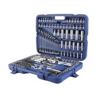 (Ship from DE) 215 Pcs Professional Socket Set 1/2 inch 3/8 inch 1/2 inch DR / Spanners / Torx + More Professional Tool Set