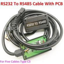 Одежда высшего качества Mb Star C3 RS232 для RS485 кабель для мультиплексор Star диагностики C3 диагностический инструмент RS485 кабель с самым лучшим чип pcb