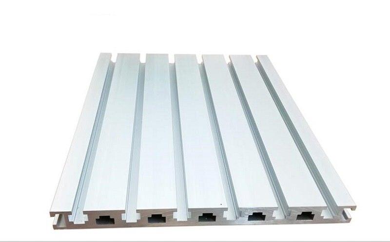 Original T Slot profilés en aluminium CNC routeur accessoires bricolage CNC panneau en alliage Rail linéaire pour bricolage CNC imprimante 3D etabli