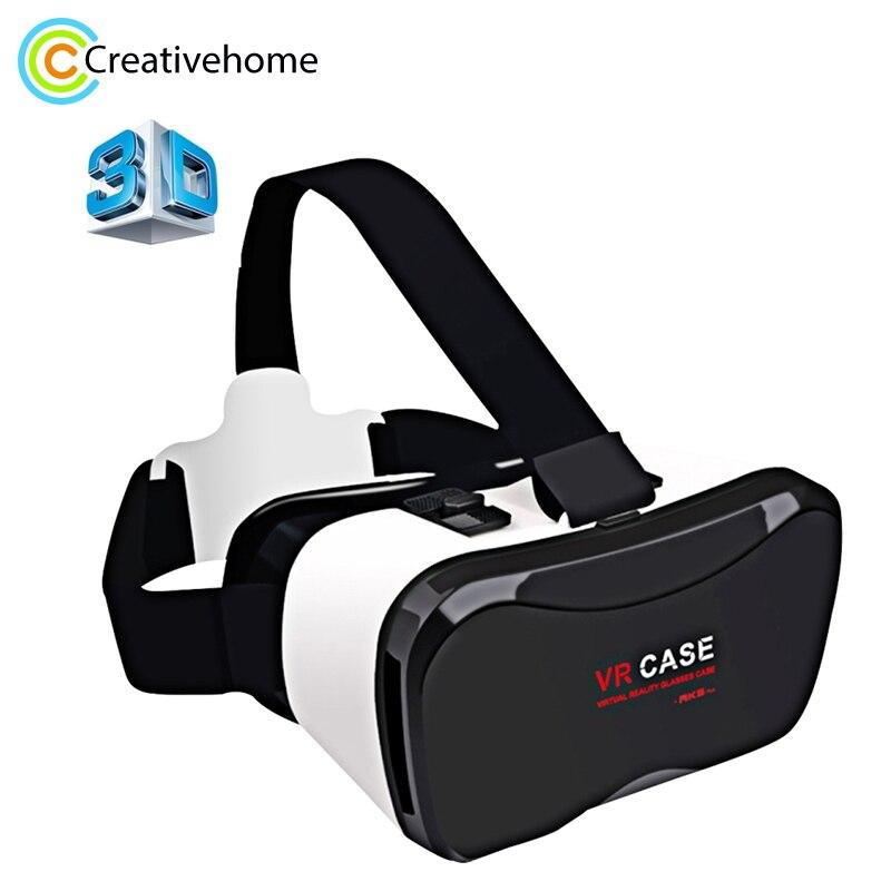 3D VR Glas Virtuelle Realität Gläser VR Fällen 5 Plus 3d Glas Für Iphone Huawei 6 Sony Xperia Z Smart telefon Android 4.0-6,3''
