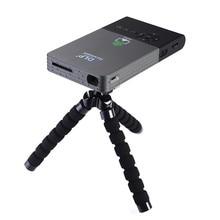 C2 Smart dlp Pocket mini projektor volles hd Tragbare Wifi projekt Android OS 1G/8G LED heimkino bluetooth4.0 projektor mini pc
