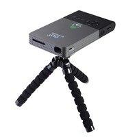 Cep projektörü c2 dlp projektör full hd Taşınabilir Wifi Projesi Android OS 1G/8G LED ev sinema bluetooth4.0 projektör mini pc