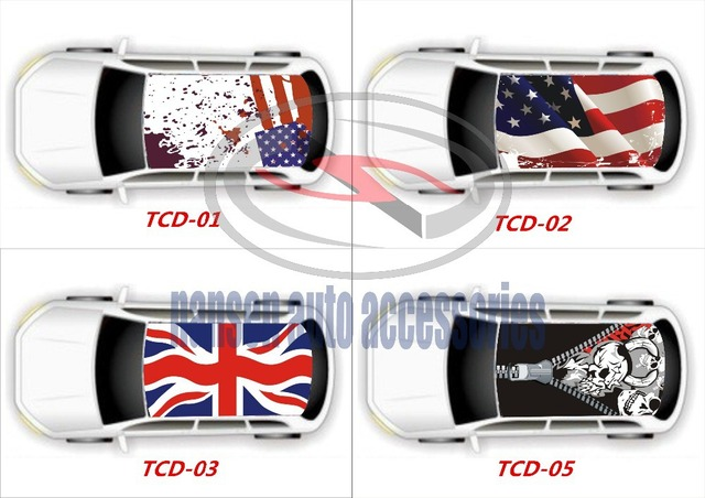 Hd car roof stickers graffiti film car sticker painting pvc film changing the color of your