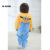 Crianças Easter Presente Inverno Flanela Assecla Traje Dos Desenhos Animados Do Bebê Das Meninas Dos Meninos Do Bebê Com Capuz Macacão Macacão de Inverno Infantil Outwear