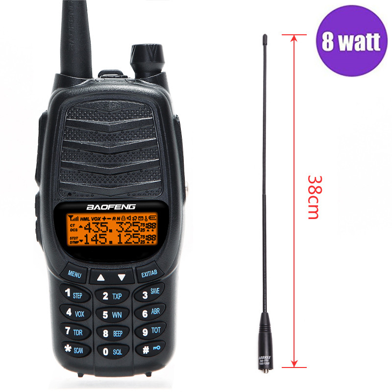 Baofeng UV-X9 Walkie Talkie 8 Watt Tripla Potenza VHF/UHF Dual Band A Lungo Raggio Amatoriale Portatile CB Two Way radio + NA-771 Antenna