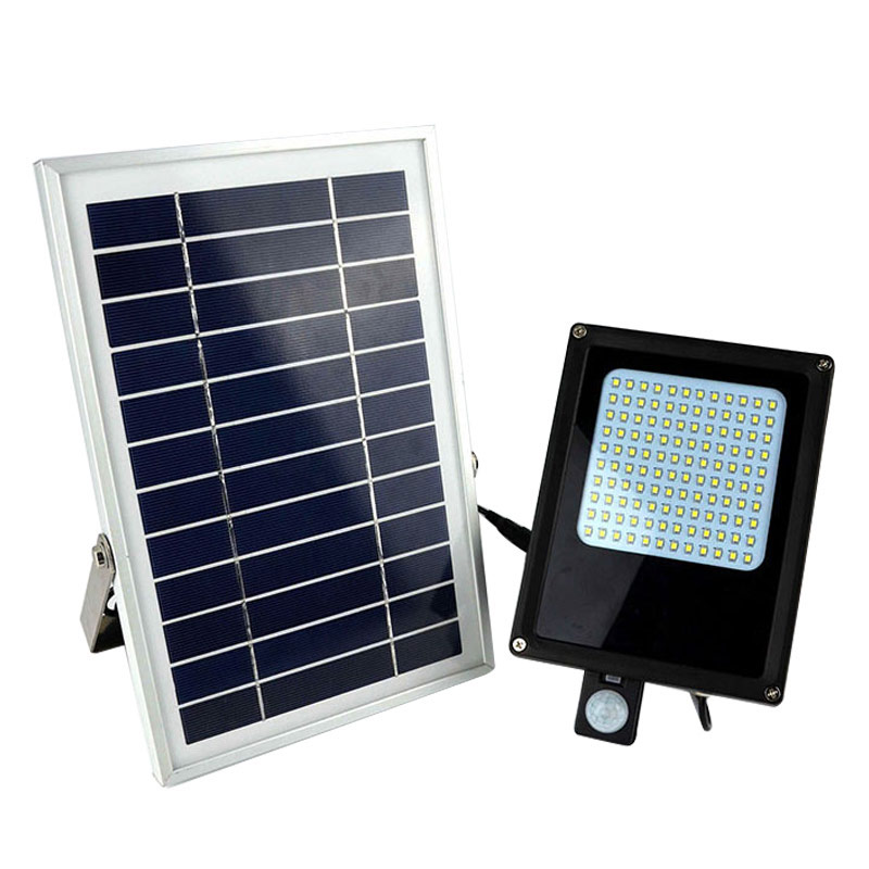 Hot Sale Waterproof Solar Lamps 120 LED Motion Sensor Garden Light Outdoor Solar Powered Light Floodlight