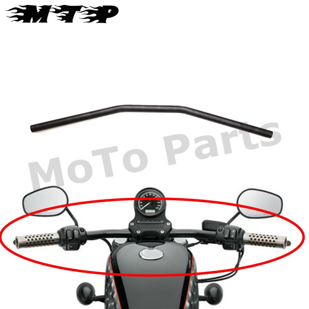 Motorcycle Black Drag Handle Bar 31 For Cb Gs Kz Vs Honda Suzuki Custom Yamaha Kawasaki Chopper Harley 1 25mm Handlebar In From Automobiles