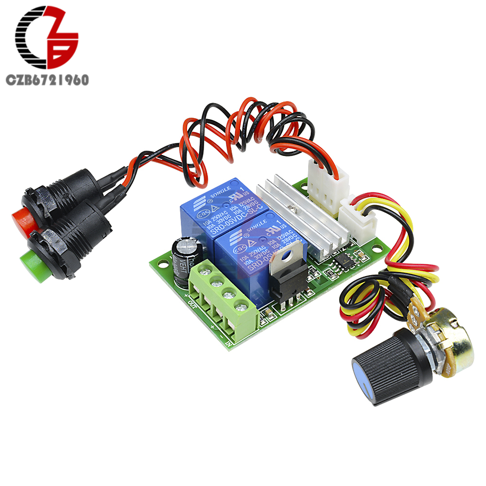 Dc 12v 24v 3a 21khz Pwm Motor Speed Regulator Controller Control Using Relay Adjustable Reversible Module 6v 28v 1203bs In From Home