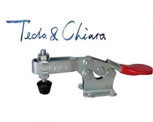 1 Pc Hand Werkzeug Schnell Holding-latch Typ Toggle Clamp Gh 201b Gh-201b 201 Hohe Qualität