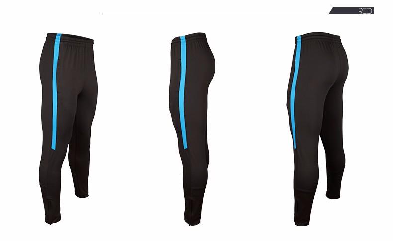 Soccer Training Pants Men Joggers Slim Skinny Jogging Running Tights Trousers Tracksuits Bottoms survetement football 2017 7