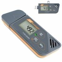 Digital Waterproof Humidity Temperature & Pressure Barometric Datalogger Gauge PDF & Excel Report LED Indicator USB Datalogger