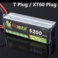 LION POWER 14.8v 5200maH 35c T Plug/XT60 Plug for Helicopter Boat Quodcopter Remote Controul toys 14.8 v Battey 4s lipo batterty