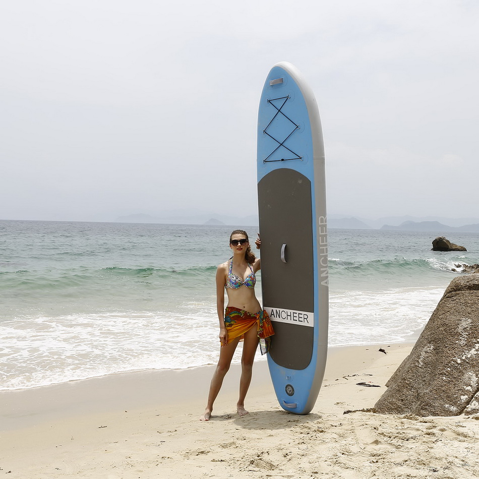 ANCHEER new 10ft Inflatable Stand Up Paddle Board iSUP