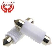 цена на KEIN C5W led C10W festoon car Bulb Ceramic Door Reading Dome Lights License Plate Trunk Lamp 12V 24V white 31mm 36mm 39mm 41mm