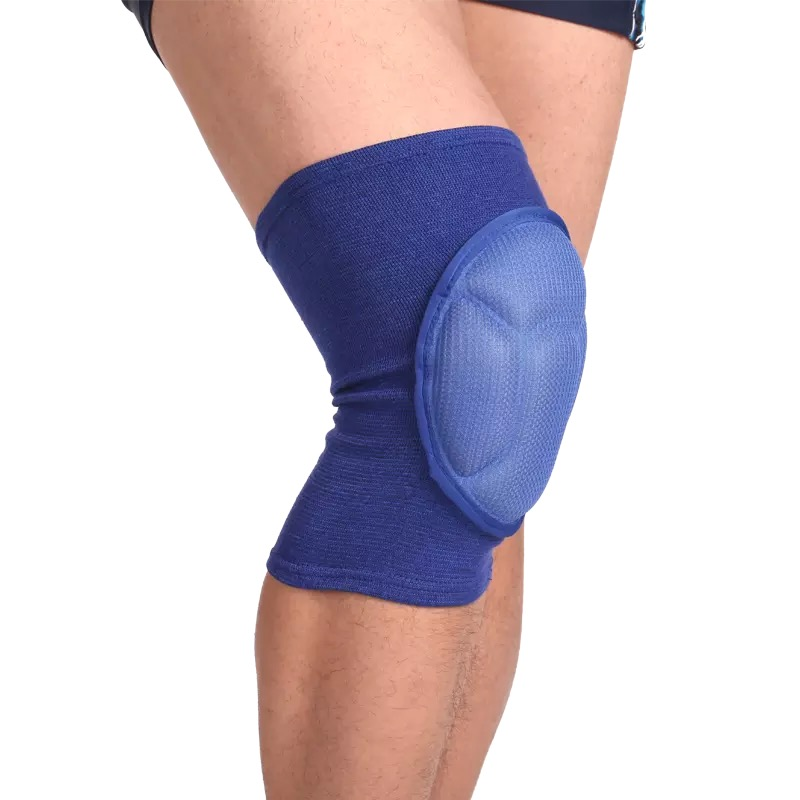 2 Pcs Sponge Volleyball Football Knee Pads Soccer Knee Support Braces basketball Knee Protector Sleeves Cycling kneepads in Elbow Knee Pads from Sports Entertainment