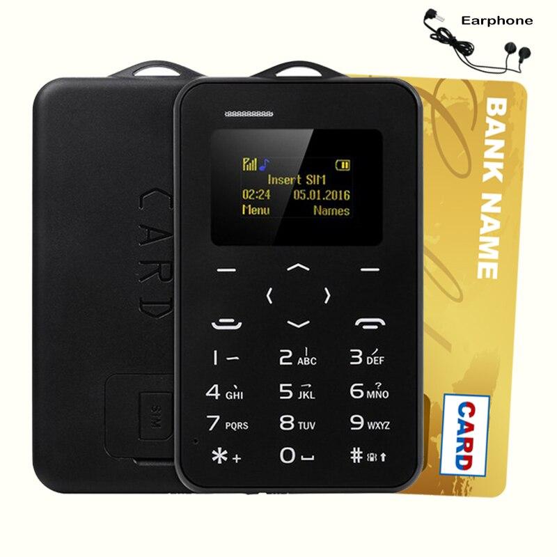AEKU C6 Cartoon Kid GPRS Bluetooth Vibrazione Piccole Dimensioni Mini Carta ultrasottile di Ricambio Studente di Prezzi Bassi di Sblocco Del Telefono Mobile AIEK M5