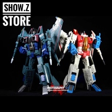[Show.Z Store] Robot Hero RH CG-01 MP11 SS & CG-02 MP03 SS Green Set of 2 w Upgrade Kits Transformation Action Figure