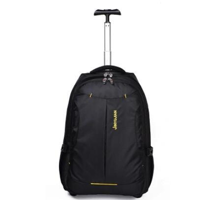 Roll Rucksack Frauen Trolley Rucksack tasche Reise rädern Gepäck Tasche Männer Business tasche gepäck koffer rucksack auf rädern-in Reisetaschen aus Gepäck & Taschen bei  Gruppe 1