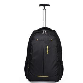 Find Deals Rolling Backpack Women Trolley Backpack bag Travel wheeled Luggage  Bag Men Business bag luggage suitcase backpack on wheels 8fdfb4fcc0f3b