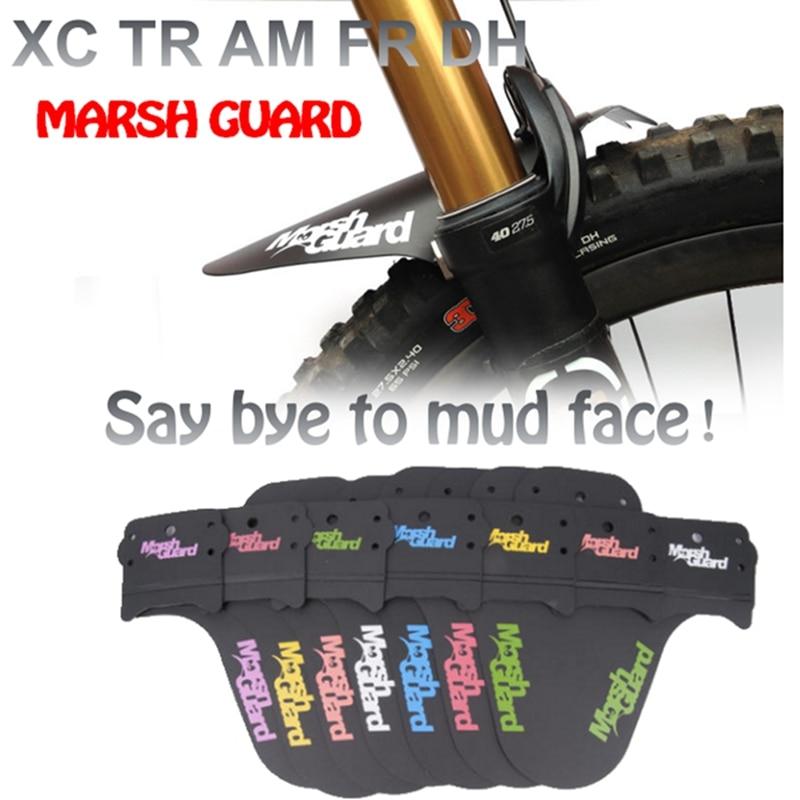 MARSH GUARD model aerodynamics mud guard for MTB XC TR AM ENDURO DH FR wings for bicycle bike fenders guardabarros mudguard(China)