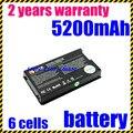 Jigu bateria do portátil para asus f8 f80 f80h f80a f80q f80l f81 f83 F50 N80 N81 X61 X61W X61S X61GX X61SL X61Z X80 X82 X83 X85C X85L