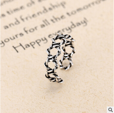 New arrival hot sell retro style Thai 925 sterling silver ladies - Fine Jewelry - Photo 1