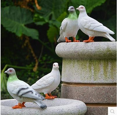 Smole ptičje obrti, simulacijski golob, vrtni okraski, vrtna - Dekor za dom - Fotografija 5