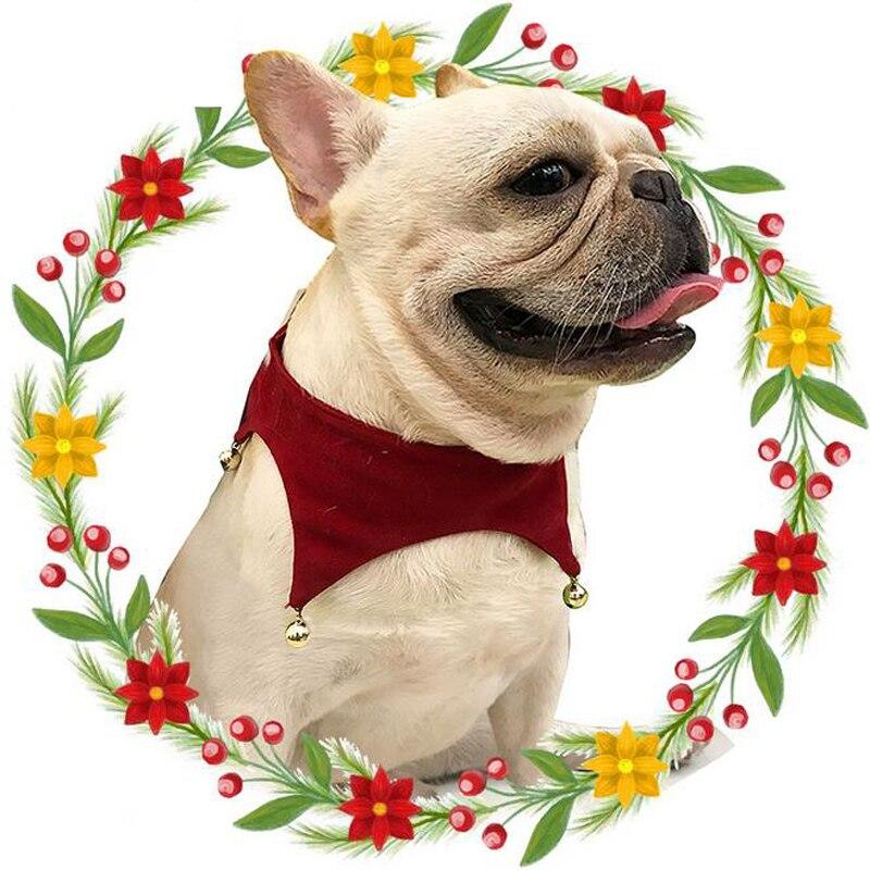 Weihnachten Hund Halsbänder Gestrickt Samt Haustier Katze Kragen ...