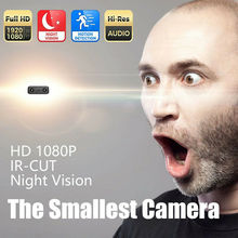 CAMSOY Mini Wireless Camera 1080P Full HD Wifi IP Security Camcorder Infrared Night Vision Micro Cam Motion Detection DVR DV