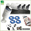 4CH 720P HD PoE NVR Security System Easy Setup 4 Indoor Outdoor PoE Waterproof 720P HD