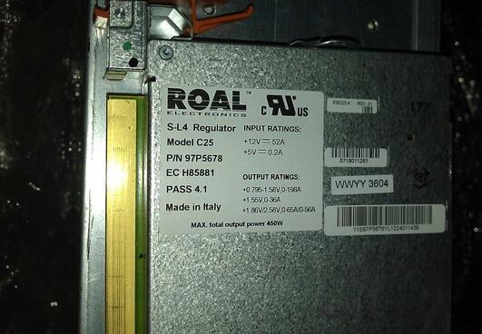 Voltage Regulator Module 97P5678 39j2557 Original 95%New Well Tested Working One Year Warranty  371 0294 01 sfp 4g sw 850nm fc fiber module original 95%new well tested working one year warranty