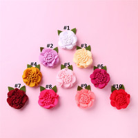 50Pcs New Baby Girl Kids Hair Bow Boutique Alligator Clip Grosgrain Ribbon Bowknot