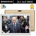 Carbaystar t805c 10.1 pulgadas 4g lte tablet pc octa core ram 2G ROM 64 GB de Doble Tarjeta SIM Android 5.1 Pestaña GPS bluetooth tabletas