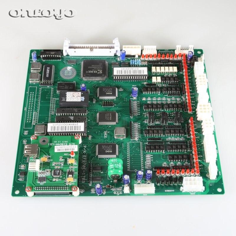 Процессор основная плата P/N E870 для китайских вышивальные машины с портом USB