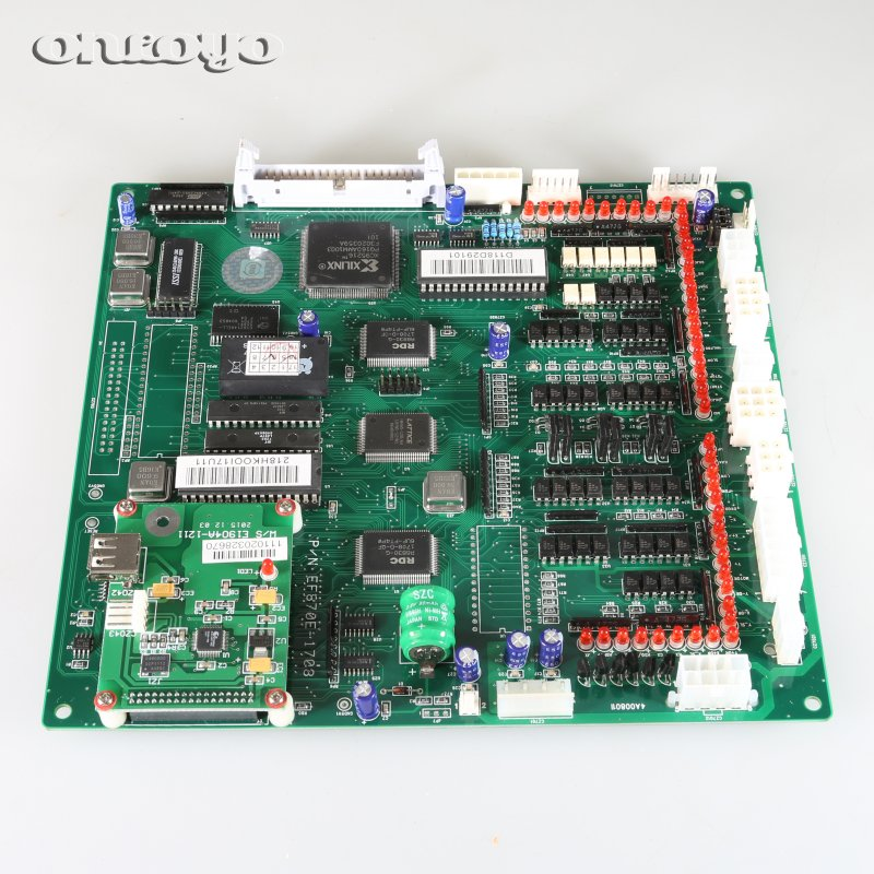 CPU main board P/N E870 for Chinese embroidery machines with USB port