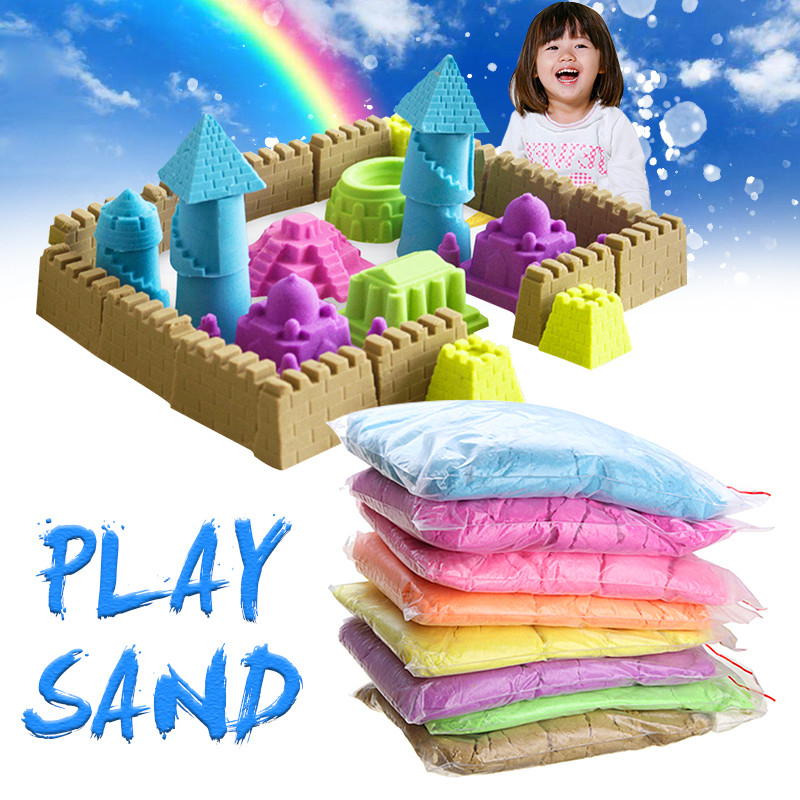 1kg Dynamic Sand Toy Clay Educational Colored Soft Magic Sand Space Indoor Arena Play Sand Kids Toys for Children куртка кожаная sand sand sa915embgoz1