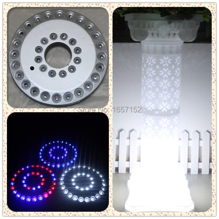 wedding led light roman road lead column light White Led lights just for hollow out roman pillar LED light 4pcs/lot