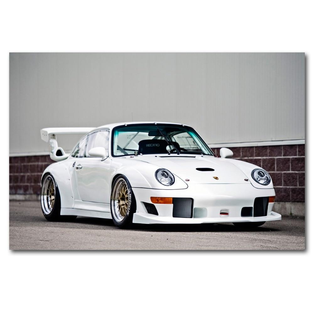 Auto Porsche 911 GT 2 RS Bild Leinwand Abstrakte Kunst Bilder Wandbilder D1875