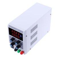 0 30 В 0 10A Регулируемый цифровой Дисплей DC Питание коммутации Источники питания (США) регулятор напряжения 4 битный цифровой Дисплей
