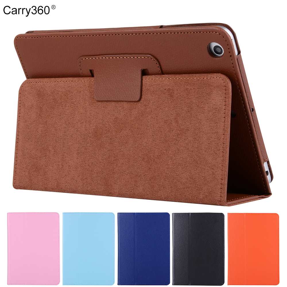 Carry360 for iPad Mini 4 Case Magnetic Slim Rose Gold Litchi PU Leather Case for iPad Mini4 Case Funda Wake Up Sleep Smart Cover