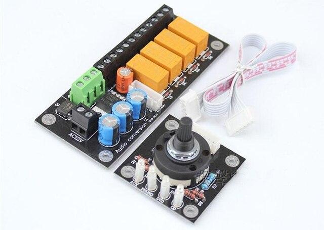 RCA Audio Chuyển Đổi Đầu Vào Board Lựa Chọn Ghế Sen Stereo Bộ Khuếch Đại Tiếp Sức