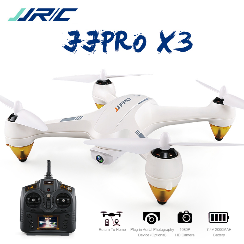 JJRC JJPRO X3 GPS RC Drone with Camera 500m Far RTF WiFi FPV 1080P Full HD Mode Indoor Altitude Hold Light RC Quadcopter Dron jjrc h12wh wifi fpv with 2mp camera headless mode air press altitude hold rc quadcopter rtf 2 4ghz