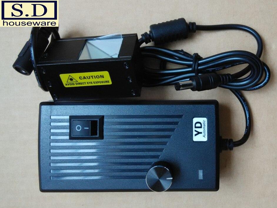 LED de Vision industrielle allumant la Source lumineuse coaxiale 25*25mm